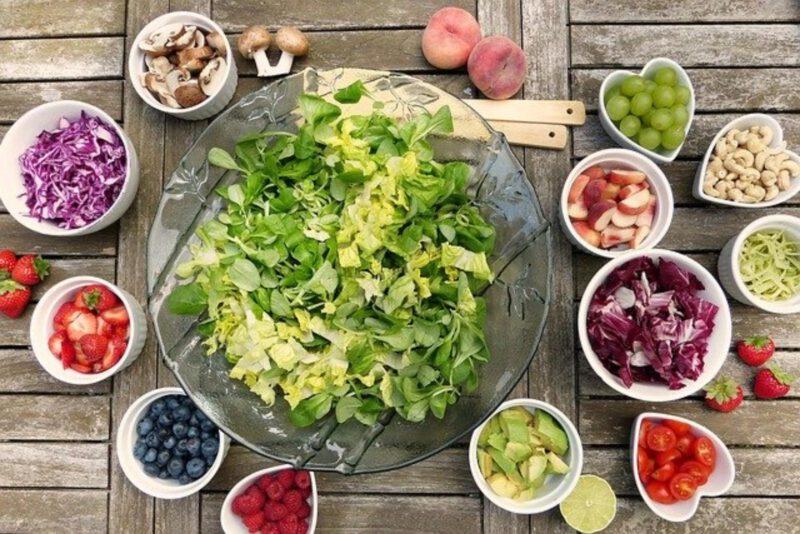 Zdrowe produkty w kuchni
