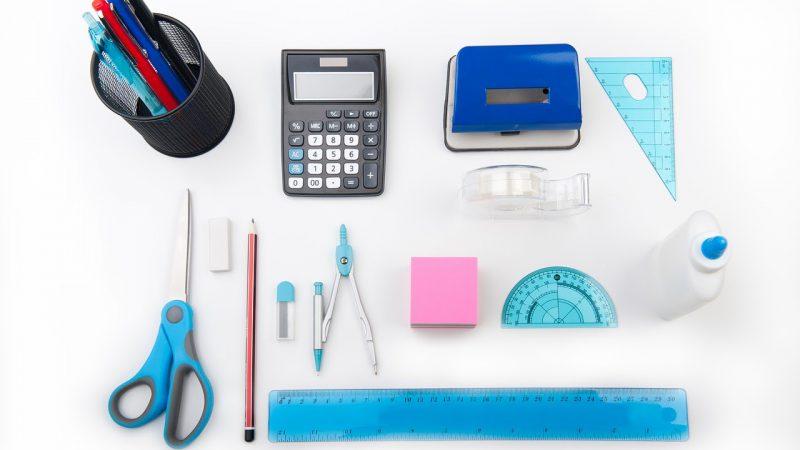 Akcesoria szkolne na matematykę